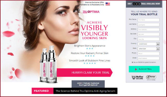 Tru Optima Anti Aging Cream