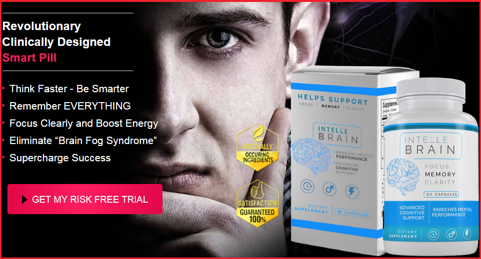 Intelle Brain Supplement Pills